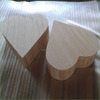 Loving Heart Wooden Jewelry Package Box For Valentine's Day Decor