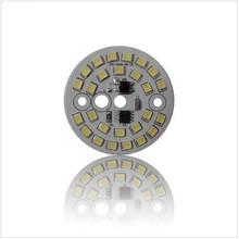 Newest ac 220v led pcb 2835 smd 3-12W driverless no need extra LED driver /round aluminium led pcb boards
