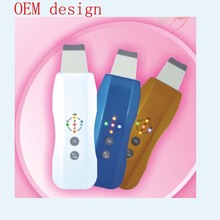 New design product electric ultrasonic face scrubber with TA