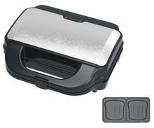 CE Approval 2 slice detachable plates sandwich/waffle maker
