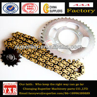 Motorcycle factories spare parts china,Transmission chain sprocket,hot sell for China market