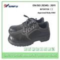 Zapatos de Seguridad Negros Para Mujer Resistentes Al Aceite SF7618