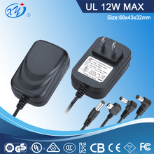 2015 CCTV power supply 12v dc with UL and Energy Star
