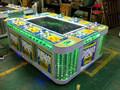 Seis jugadores de pescado temporada que funciona con monedas juego de pesca simulador para adultos