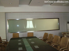 interior swinging wood glass partition for kitchen/laminating toughened glass internal partitions