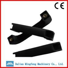 Bow shape abs plastic luggage parts plastic suitcase handle