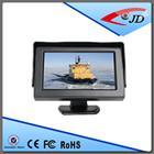 4.3 polegadas tft lcd carro monitor de painel para o carro sistema retrovisor