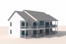 Prefabricada de fibra de vidrio casas y villas prefabricada panel sándwich villas modelo prefabricado casa de contenedores