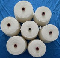 100% polyester yarn,recycled, for knitting and weaving