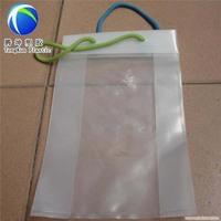 New Design shopping cotton rope handle custom plastic bags