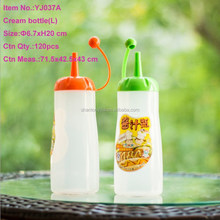 400ml Soft Fexible Body squeeze plastic bottle for sauce