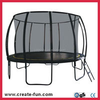 CreateFun 12ft Used Round Trampoline Bed For Jumping