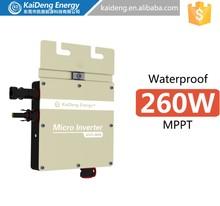 KD-WVC260A 2014 new design mini solar energy power plant 10kw 50kw 100kw