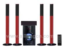 USBFM-5508H/5.1 Virtual sound 5.1 pro wireless surround sound speaker