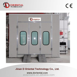 DOT-C7 car spray house for sales / paint booth used spray booth for sale