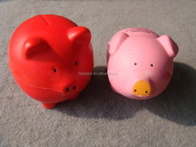 pu stress reliever pig toy