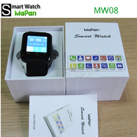 MaPan MW08 2015 New Wireless Bluetooth Moblie Phone Sports Smart Watch For Android Mobile
