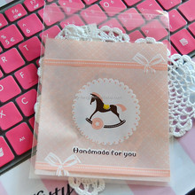 Wholesale OEM all clear CUSTOM OPP Self-adhesive Bag for Gift package