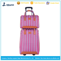 hot sale trolley travel bag luggage for girls of two wheel shopping trolley bag