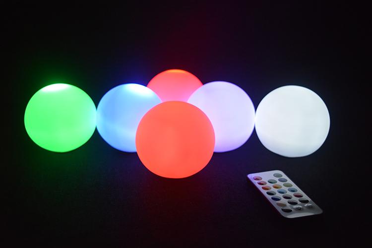 large outdoor christmas balls lights