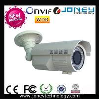 ONVIF WDR Bullet 5mp vandal proof IR p2p network IP Camera