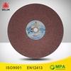 aluminium fibreglass grinding discs wheel for concrete floor