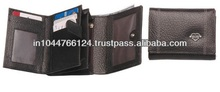 Top quality ladies leather wallets / personalized wallets for ladies / black women purse