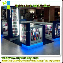 Customized Small Electronics and Mobile Phone Accessories Display Kiosk