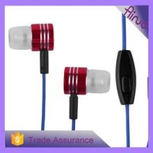2015 hot selling wholesales metal headphone headset cool design headset metal headphone earphone