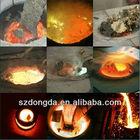 América do sul e rússia venda quente 60 kg forno de fusão portátil para nióbio ferro de fusão