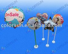 2012 best selling DIY inkjet photo balloon with A4(18CM) and A3(28CM) size