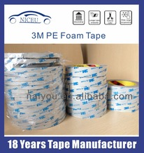 PE foam tape for cars and walls decoration