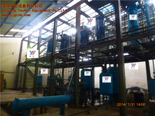 Installation and debugging vacuum distillation used oil recycling High efficiency