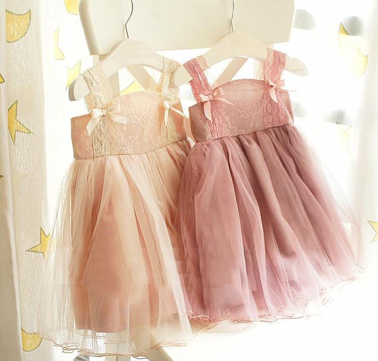 платье девушка цветок девочки платья новых детей high-end чистое платье принцессы детский бутон шелка соболезновать пояса bowknot платья