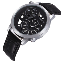 Hot selling skone spacecraft element two time zone dial design your own watch
