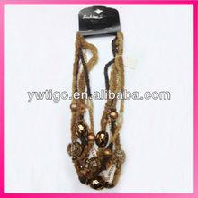 nuovo arrivo a mano filo collana stringa con perline