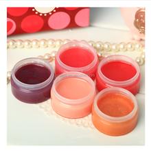 Natural fruit nutrishing colorful lip balm