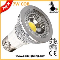 High Quality UL/cUL Approved dimmable 7W COB low heat no uv led light bulb