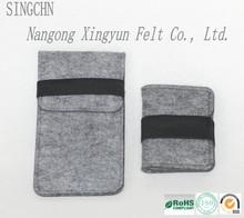 Fashion Promotion Selling felt bag,felt keychain bag