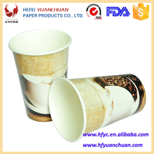 China wholesale hot tub wall paper tea cups personalized disposable cups