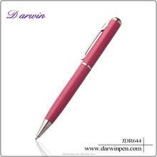 Promotional metal spring pen