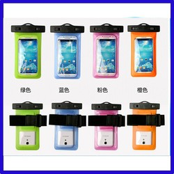 Good quality Best-Selling clear pvc waterproof mobile phone bag, Quality Waterproof Cell Phone Bag for Iphone 6