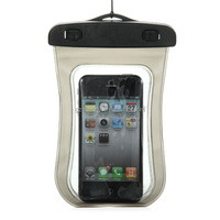 High Quality Portable Waterproof Dry Pouch Bag Case Cover For iPhone 4S For Samsung For HTC MP3 MP4