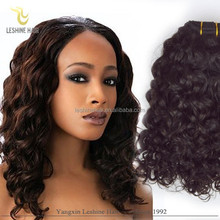 The New Products For 2015 Full Cuticle Malasian Wavy Hair