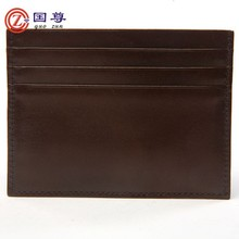 Top Quality Genuine Leather Card Holder Wish 3 Slots / Credit Card Holder