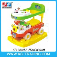 top popular baby car plastic cheap cartoon baby walkers