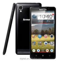 5.0 inch 1280x720 pxls Lenovo P780 SmartPhone MTK6589 Quad Core 1GB RAM 4GB ROM Android 4.2 Dual Sim 3G Phone