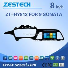 2 din car dvd/car dvd gps For Hyundai Sonata 2014 2015 9TH Generation car dvd/car dvd gps Bluetooth SD USB Radio wifi 3G