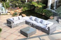 lifestyle living room furniture wicker sofa set