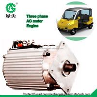 AC electric motor 4kw for electric golf cart club car